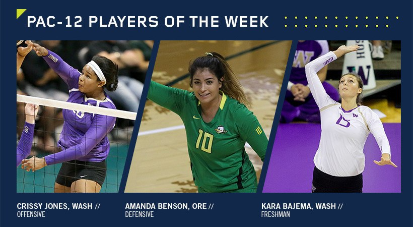 Pac-12 Players of the Week