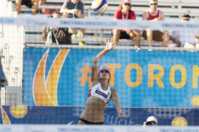 Melissa Humana-Paredes #2 Team Canada White September 13, 2016 PHOTO: Chris Tanouye
