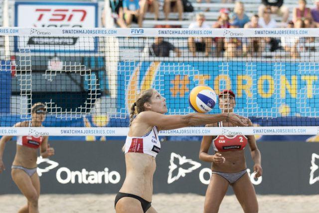 Sarah Pavan #1 Team Canada White September 13, 2016 PHOTO: Chris Tanouye