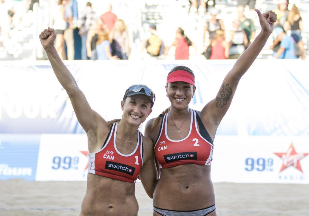 FIVB Beach Volleyball World Tour Finals: Women's Day 1