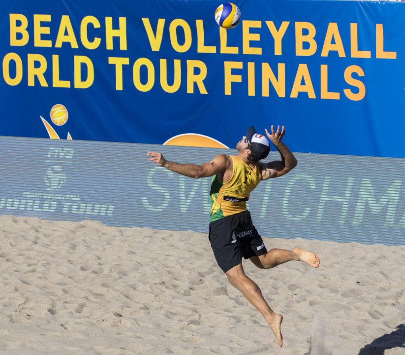 Bruno Schmidt Named FIVB Beach Most Outstanding Player