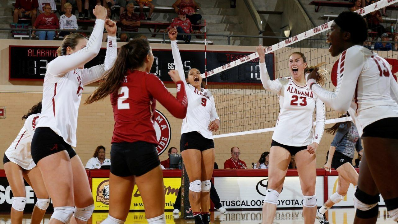 29 Kills From Krystal Rivers Leads Alabama Over #19 Texas A&M
