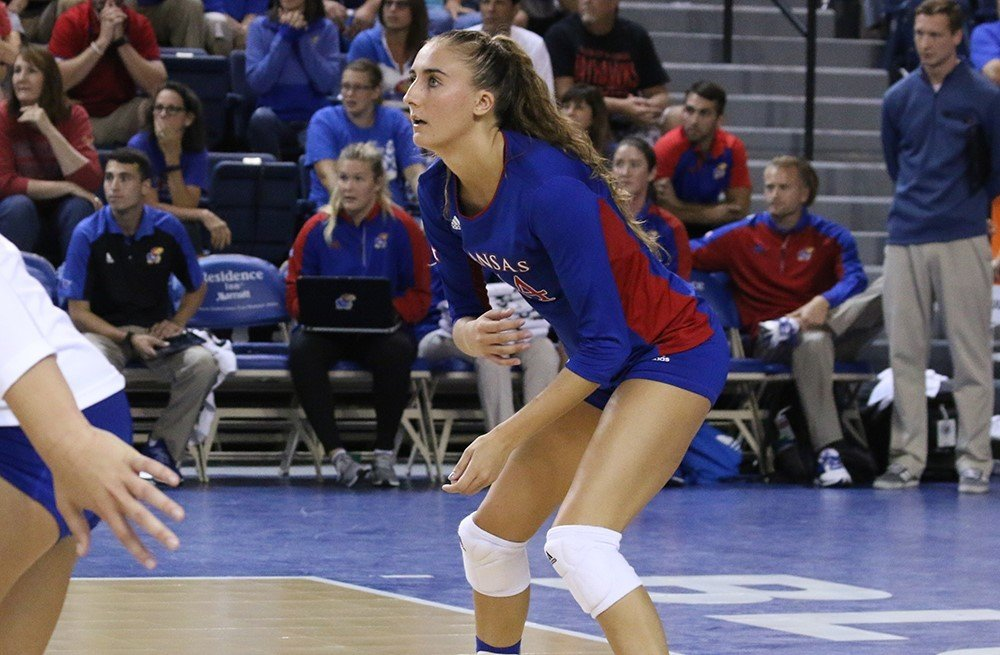 Fourth Ranked Kansas Fights off Creighton in Five Set Thriller