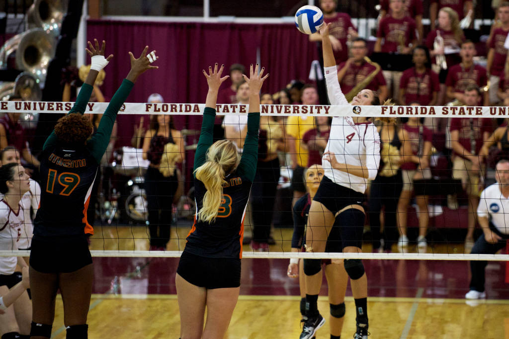#15 Florida State Blows Away Hurricanes 3-0 at Home