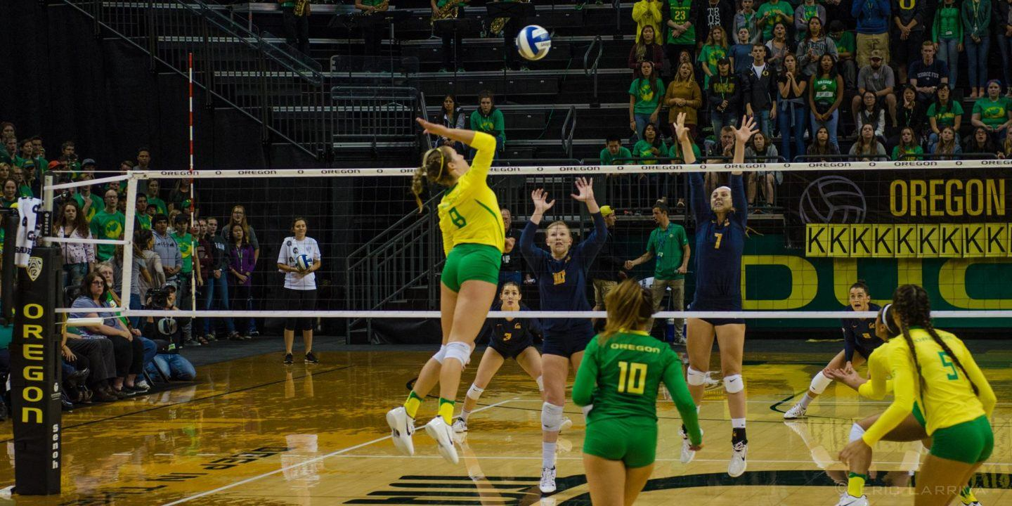 Vander Weide & Stone Lead #16 Oregon to Sweep of Hawaii