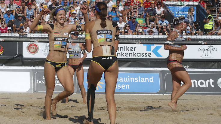 Ludwig and Walkenhorst Match German Title to Olympic Gold