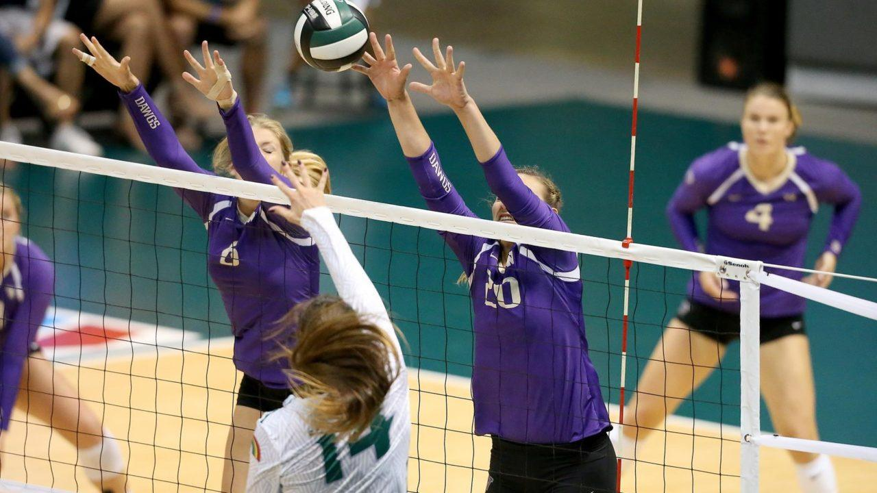 #5 Washington Remains Unbeaten in 3-0 Sweep Over Maryland