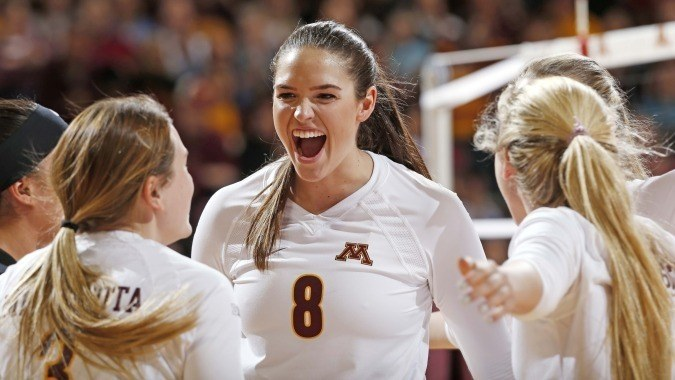 2016 Big Ten Volleyball Weekly Release