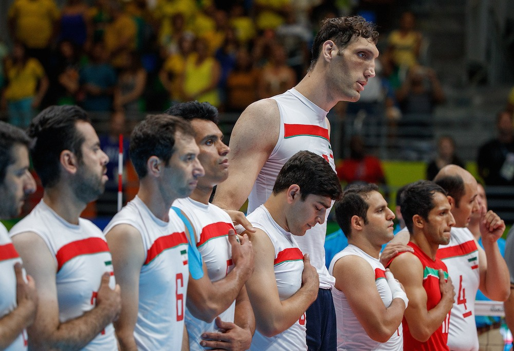 iran para volleyball team becomes 2018 men s world super six champs