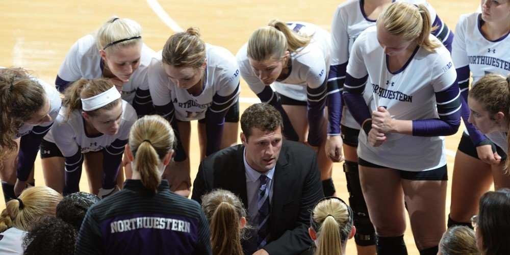 #19 Ohio State Sweeps Northwestern 3-0 for First Big Ten Win