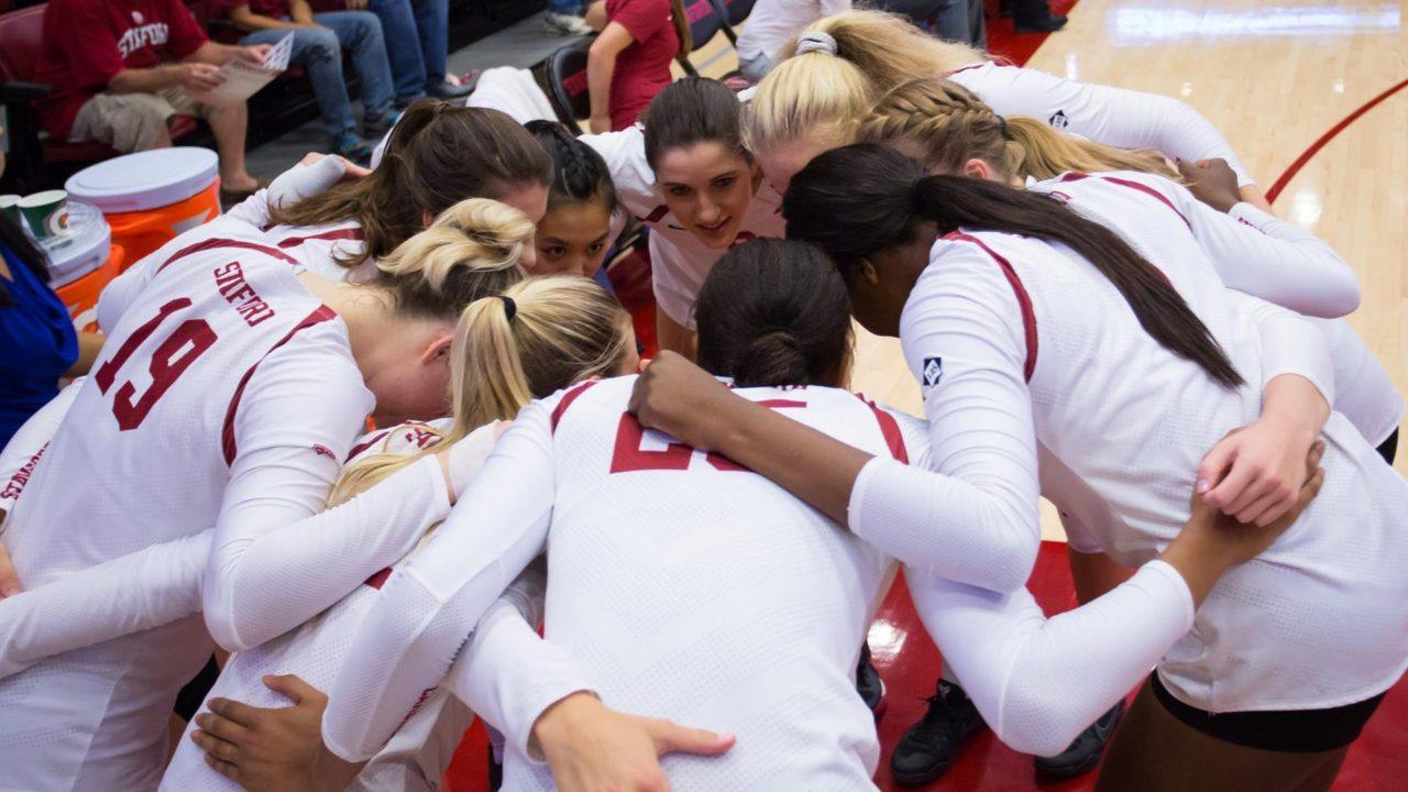 #9 Stanford Wins Over Cal Poly in Five Sets