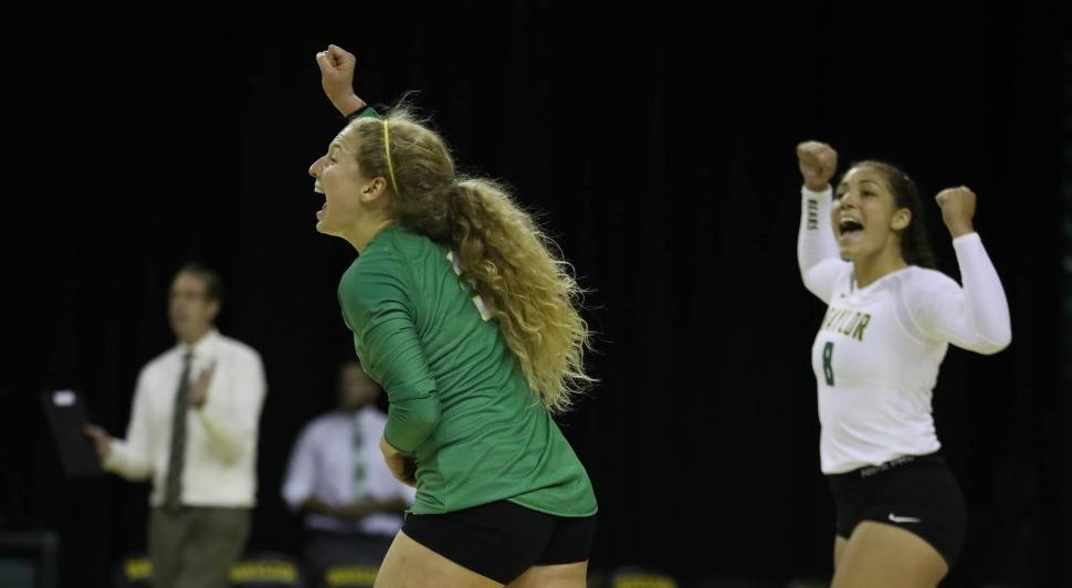 Baylor Rolls Through No. 20 TCU In Straight Sets