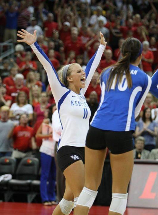 No. 23 Kentucky Snaps Texas A&M's Eight Match Win Streak