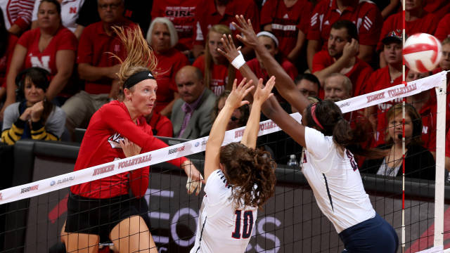 #1 Nebraska Moves To 12-0 With Road Sweep of #24 Illinois