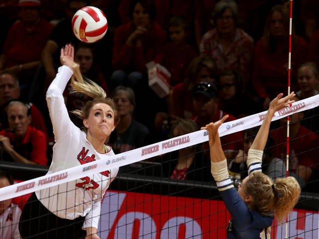 No. 1 Nebraska Breezes Past Montana State