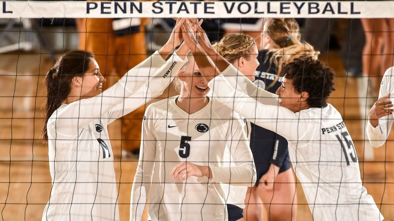 No. 16 Penn State Sweeps No. 22 Michigan to Stay Perfect in Big Ten