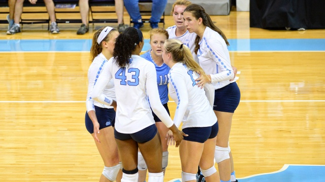 UNC Sweeps High Point At Home