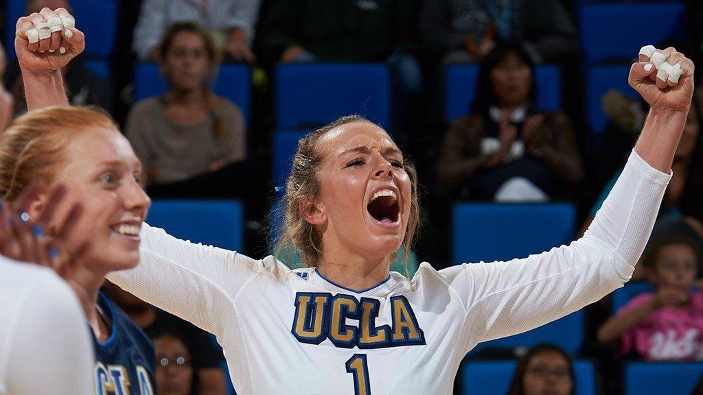 15 Kills from Jordan Anderson Leads #10 UCLA over #25 Utah