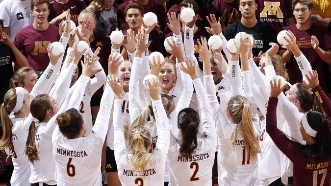 Minnesota Comes In as New #1 in Week 6 AVCA Polls