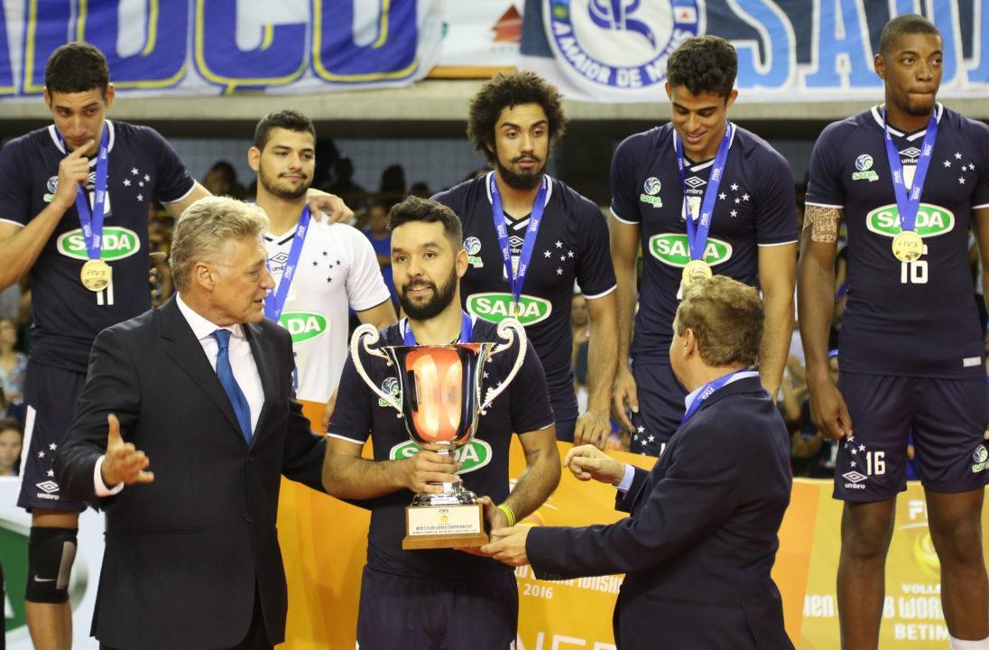 Sada Cruzeiro's William Arjona Earns MVP Honors at #FIVBMensCWC