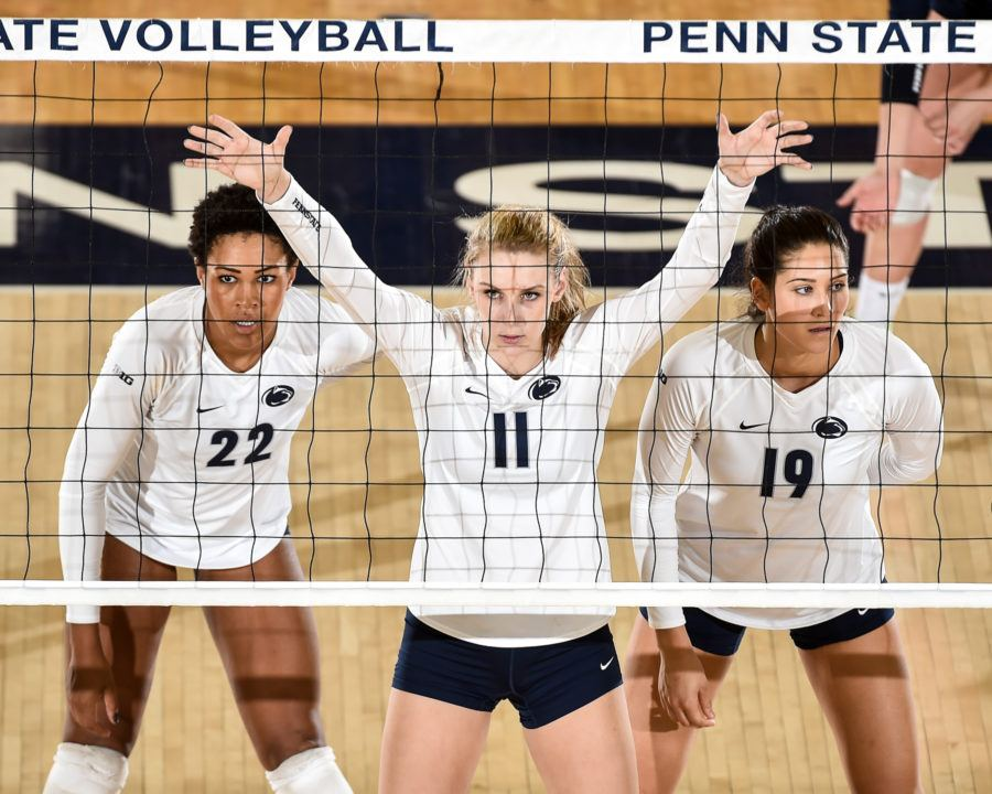 Penn State Wins 12th Straight in Homecoming Sweep of Rutgers