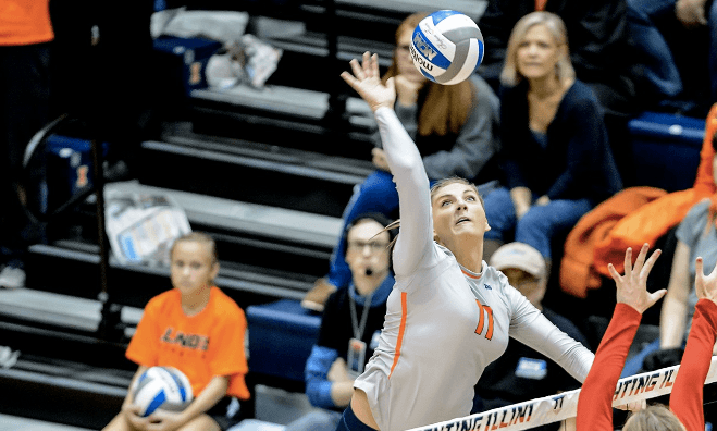 Illinois Transitions Katie Roustio to Student Assistant After Injury