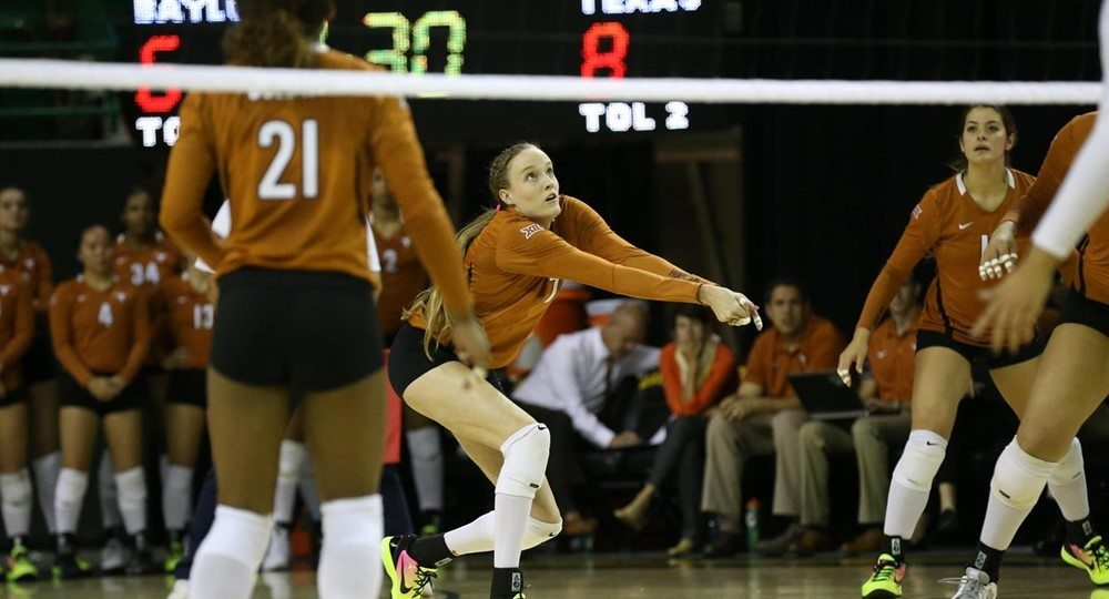 No. 4 Texas Rolls Past Baylor In Four