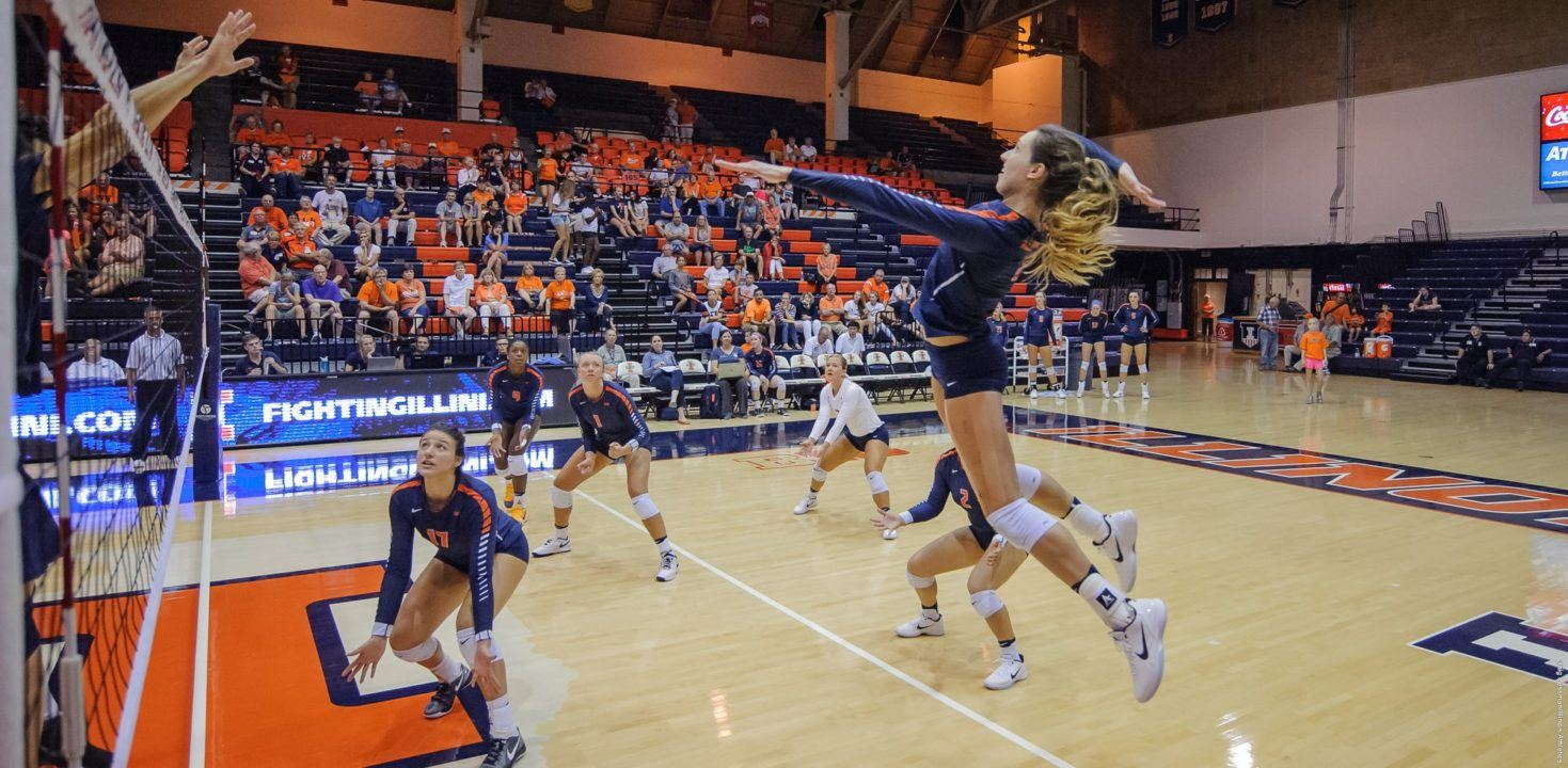 The Illini Fight Hard To Take Down Maryland In Five