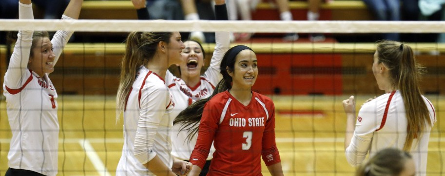 Valeria Leon Tops Dig Mark as #19 Ohio State Sweeps #11 Michigan State