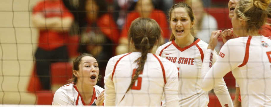 Ohio State Sweeps Missouri State To Advance To Second Round