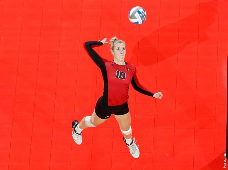 Melanie McHenry Notches 18 Kills as Louisville Upsets #24 Florida St.