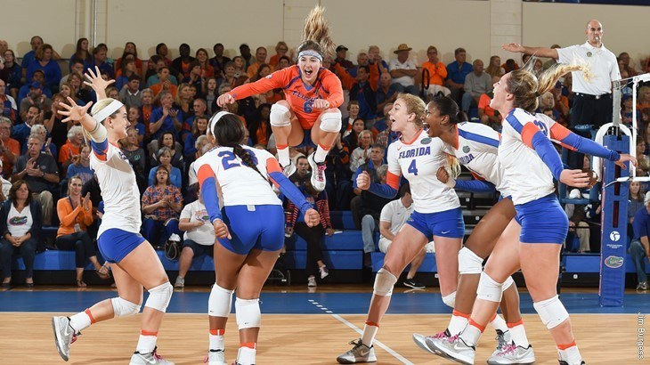 Florida Brings In Five AVCA Player Of The Year Recipients