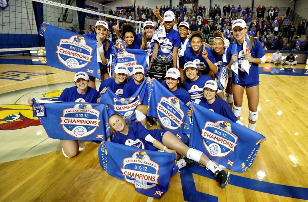 Kansas Overcomes Kelsie Payne Injury to Clinch First Ever Big 12 Title