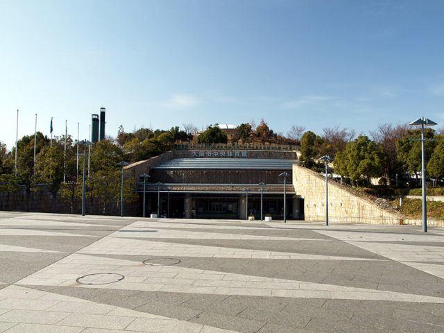 Osaka Municipal Central Gymnasium, Capacity 8200. Photo Courtesy: W236