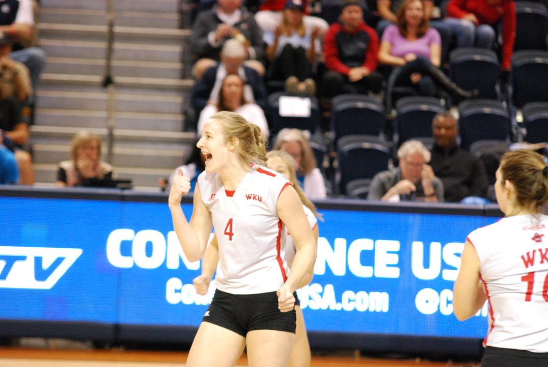 #20 WKU Staves Off Late Rice Surge to Win CUSA Tournament 3-2