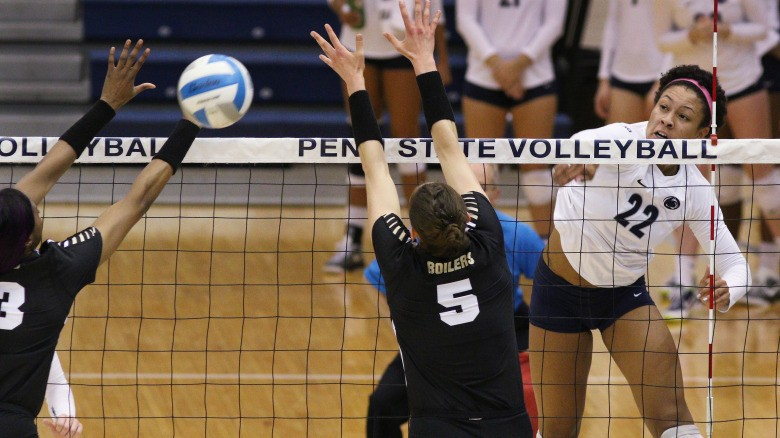 Northwestern Fights Early, But Falls to Penn State's Outside Assault