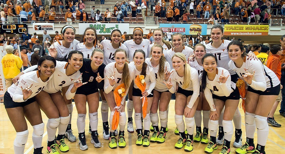 #5 Texas Finishes Regular Season With 3-0 Sweep of West Virginia