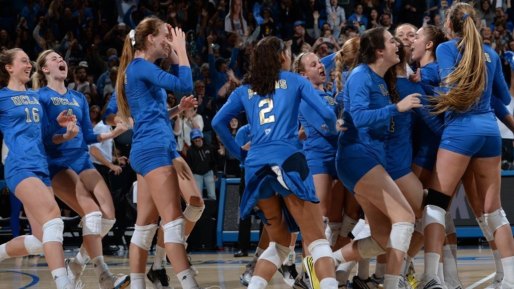 #8 UCLA Overcomes 1-0, 2-1 Deficits to Beat Rivals USC in 5
