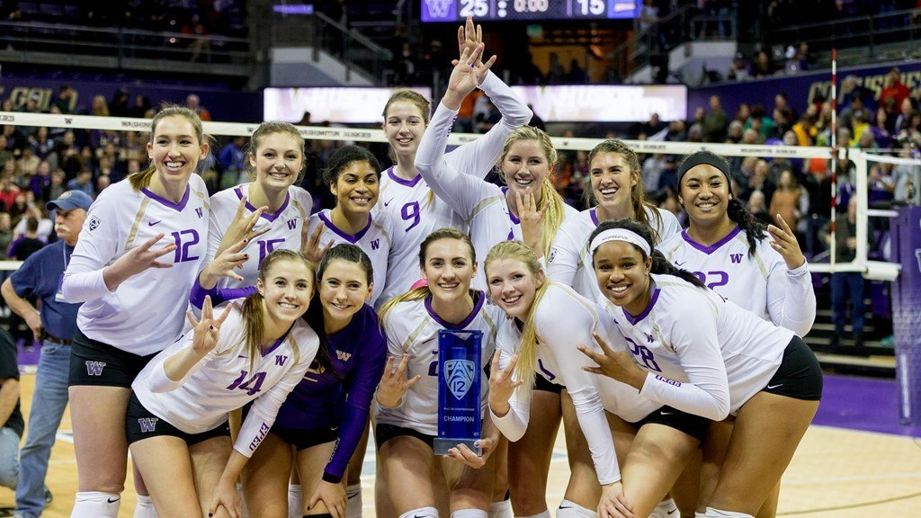 Washington Clinches Solo Pac-12 Title with Sweep of Washington State