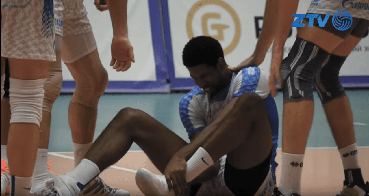 Champions League MVP Wilfredo Leon Out At Least 7-10 Days With Ankle Injury