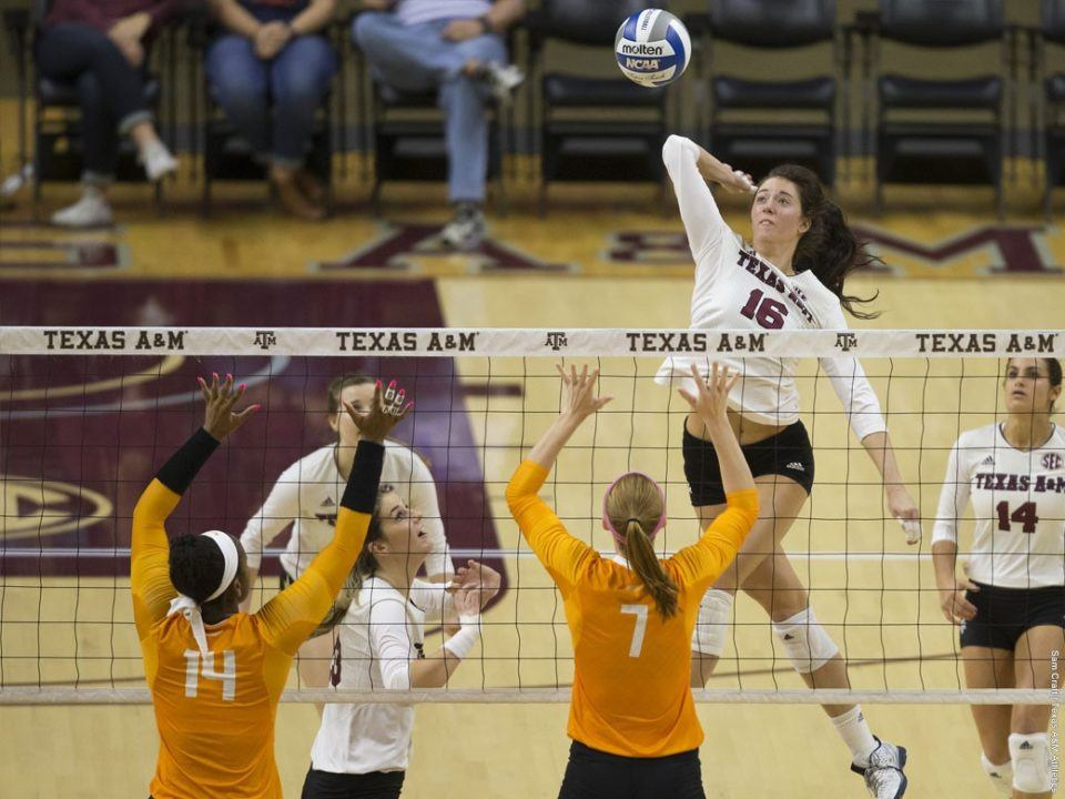 Texas A&M Takes Down Tennessee In Four