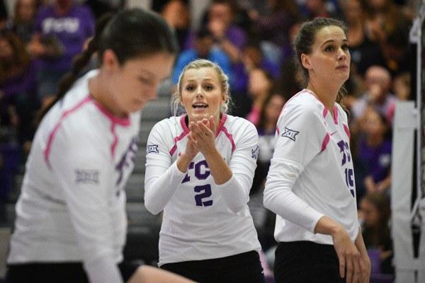 TCU Takes Down Wichita State In 4 Sets