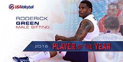 Roderick Green Named As USA Volleyball Male Sitting Player Of The Year