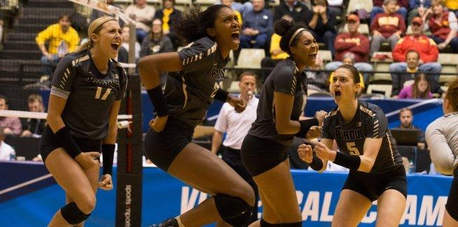 Danielle Cuttino's 21 Kills Leads Purdue To 2nd Round