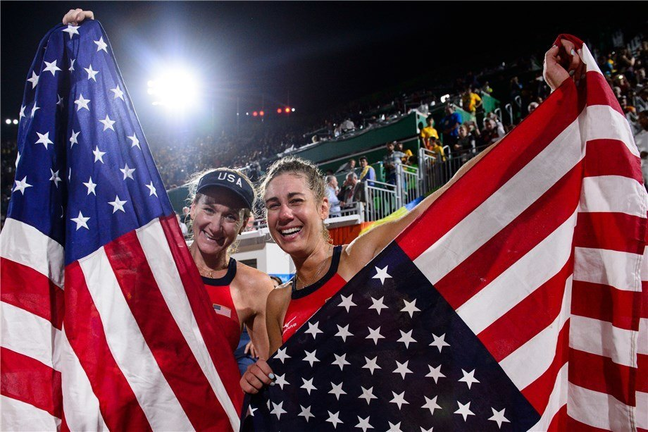 American Super-Pair Kerri Walsh-Jennings and April Ross Call it Quits