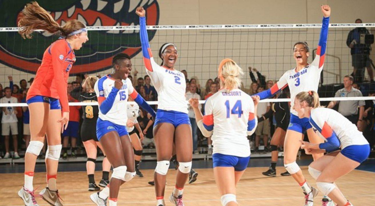 No. 11 Florida Gators Oust Alabama State in Straight Sets