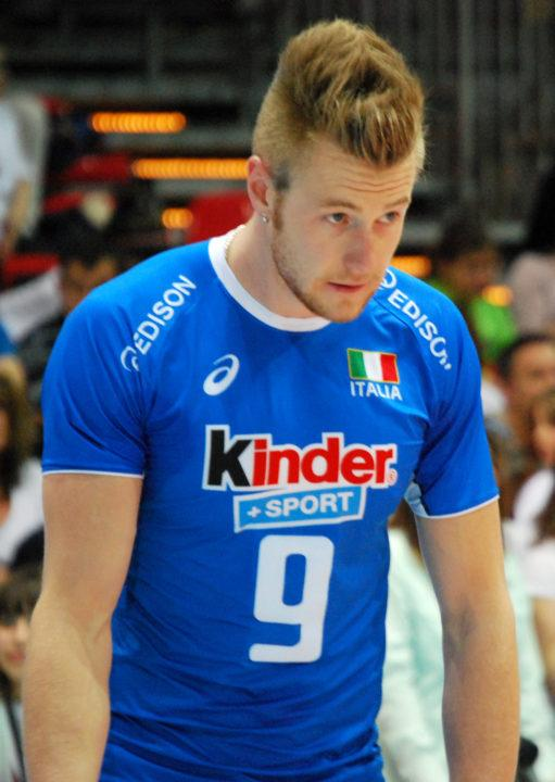 Ivan Zaytsev Leading Vote for Italian Male Athlete of the Year