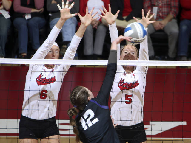 Top-Seeded Huskers Win 100th NCAA Tournament Game in Program History