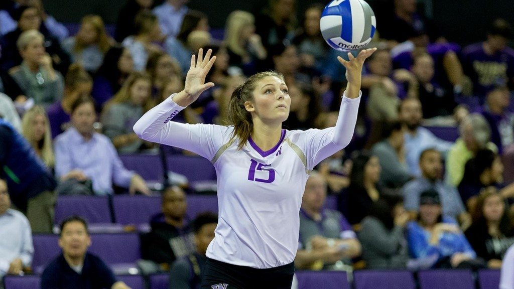 Freshman Kara Bajema Leads 8-Seed Washington Through Offensive Slump
