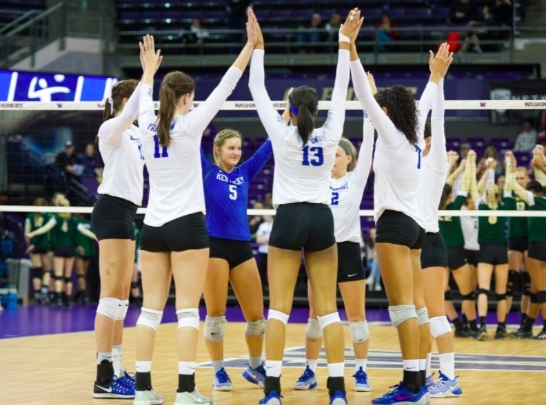 The Kentucky Wildcats Take Down Colorado State in 4 Sets